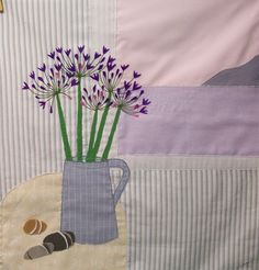 textile art nature morte