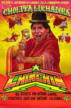 Cholita luchadora