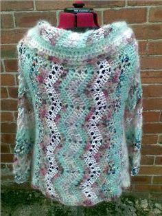 Heidi's Crochet Scrapbook / Summer Garden Shawl Cardigan
