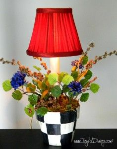 Knock Off Mackenzie Childs Accent Lamp
