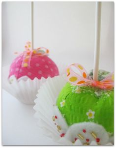 Sugared Candy Apples