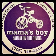 if you haven't been to mama's boy your life is not complete.