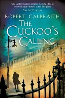 The Cuckoo's Calling by JK Rowling (under the pseudonym Robert Galbraith). Sent by my mother-in-law. Very good, actually. I don't usually enjoy modern detective fiction, but this was an interesting story with great characters and good dialogue. Most contemporary mysteries tend to wallow in excessive gore and sex, while this one was more restrained.