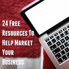 This post offers a list of 24 resources which will prove helpful in marketing any small business or blog.