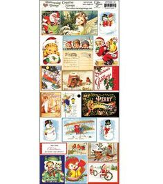 Crafty Secrets Creative Scraps-Merry Christmas