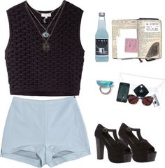 """Sans titre #137"" by its-laurie ❤ liked on Polyvore"