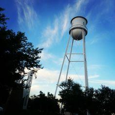 The beautiful #GilbertAZ water tower captured by Instagram user @josh_the_josh.