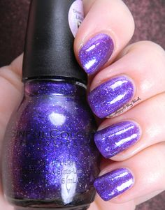 Sinful Colors Interstellar | Be Happy And Buy Polish http://behappyandbuypolish.com/2015/10/20/sinful-colors-bling-it-on-nail-polish-collection-partial/
