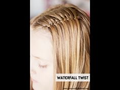 Waterfall Twist Tutorial by Measured by the Heart