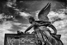Vyšehrad angel by DIVCI KAMEN, via Flickr