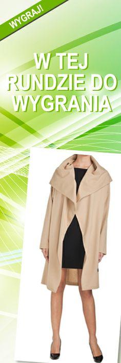 Płaszcz CLR beżowy, rozmiar M; Projektant: NATASHA PAVLUCHENKO ; Wartość: 950 zł; Poczucie piękna: bezcenne. Powyższy materiał nie stanowi oferty handlowej Coat, How To Wear, Sewing Coat, Peacoats, Coats, Jacket