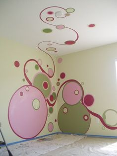 This would be soo cute in a little girls room!