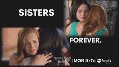 Aww sisters are forever! We love this moment between Bay and Daphne! | Switched At Birth