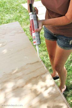 Diy Outdoor Storage Box / Bench