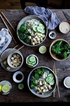 Easy vegan tofu satay recipe - The Little Plantation Tofu, Indian Food Recipes, Vegetarian Recipes, Healthy Recipes, Crab Recipes, Chicken Recipes, Healthy Food, Vegan Mug Cake, Vegan Art