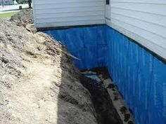 SUPERPRO Foundation Waterproofing can be used as a waterproofing