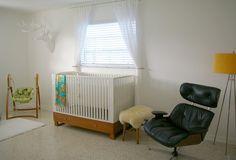 Ella + Elliot modern nursery
