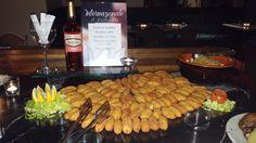 "Per la serata Portoghese ecco i ""Pasteis de bacalhau"""