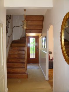 First Floor Hallway.  For more details go to:   http://homeinbrittanyforsale.com