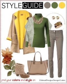 Bundle up for cold weather, casual outfit tip for Soft Autumns | Find your best colors and style on www.30somethingurbangirl.com