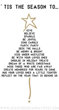 Wonderful words to practice saying over the holidays....