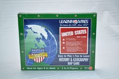 LearninGames-United-States-Map-Game-American-Classic-Edition-Up-to-6-Players
