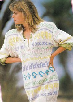 Vintage Knitting Pattern Instructions to Make a by LucysPatternBox