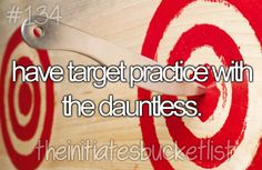 Practice with the Dauntless
