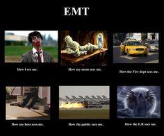 What do you think I do? - EMT