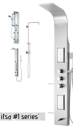 Shower Panels, Power Strip