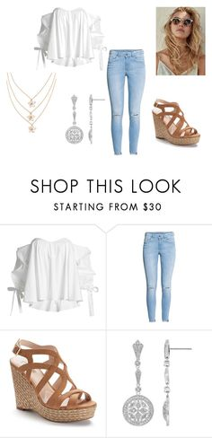 for Fun #3 by holypotato on Polyvore featuring Caroline Constas, H&M and Jennifer Lopez