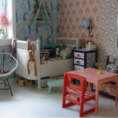 Sweet toddler room