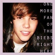 Justin Bieber. I'll admit it.
