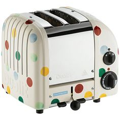 Polka Dot 2 Slice Toaster I am in love with this! It is a need