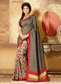 Charming Kumud Art Silk Saree