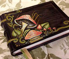 Fall Mushroom Journal by bccreativity on Etsy