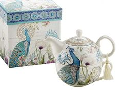 Delton Products Peacock Porcelain Tea for One in Gift Box... https://www.amazon.com/dp/B00IMLT5D2/ref=cm_sw_r_pi_dp_x_fODKybCZXCTHZ