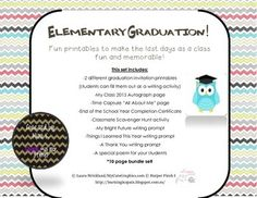 Adventures With Miss K And The Firsts Graduation PoemsGraduation InvitationsBright