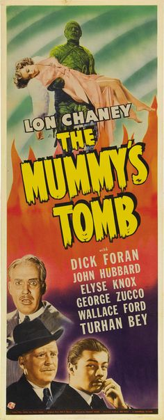 The Mummy/'s tomb Lon Chaney Horror movie poster  print #12