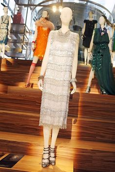 Catherine Martin Costume Designer for The Great Gatsby |Miuccia Prada Dress The Great Gatsby 2013 now at www.shopatvoi.com found the Great Gatsby style