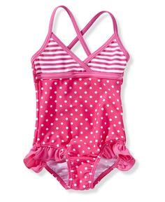 Meisjes badpak #pink summertime! #baby #girls #swimsuit