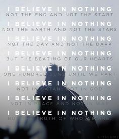 30 Seconds To Mars: I Believe In Nothing
