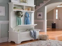 plans for enterway bench | Custom Entryway Bench and Shelf for Indoor Decoration: Entryway Bench ...