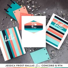 Strip Cards, Go Fly A Kite, Concord And 9th, Happy Summer, Diy Cards, Craft Cards, Ink Pads, Soft Colors, Color Combos