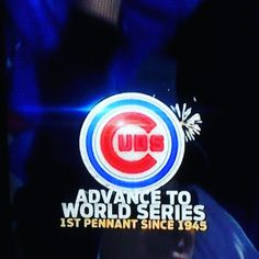 Go #Cubs Go! My Cubbies just made history! I wish I was home in #Chicago  right now!