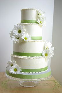 The Artsy-Crafty Mom: The Makings of a Wedding Cake