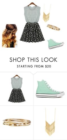 """""""Untitled 67"""" by jjrandom29 ❤ liked on Polyvore featuring Converse"""
