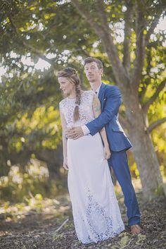 בלוג חתונות – מיי דיי השמלה הצמה והפרחים