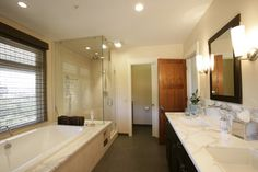 Healdsburg Master bath - contemporary - bathroom - other metro - Julie Williams Design