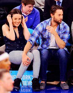Megan Boone, Ryan Eggold. New York Knicks